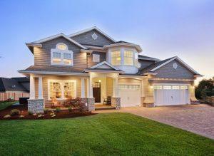Luxurious owner-built home in suburban Ontario neighbourhood