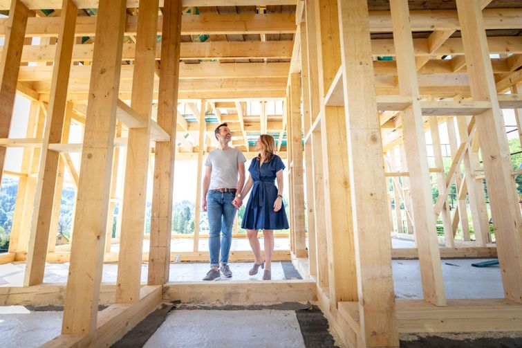 First-time home buyers can build their own home and still receive tax rebates and credits