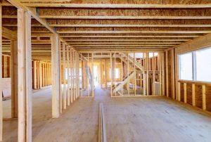 Main-floor interior of Ontario pre-construction home